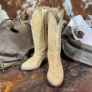 Frye Women's Leather Tan Boots Size 7D